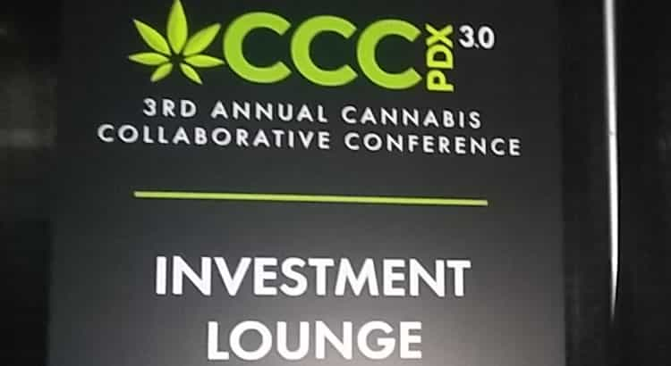"Cannabis Collaborative Conference on Marijuana Investor ""Pitch Portal"""