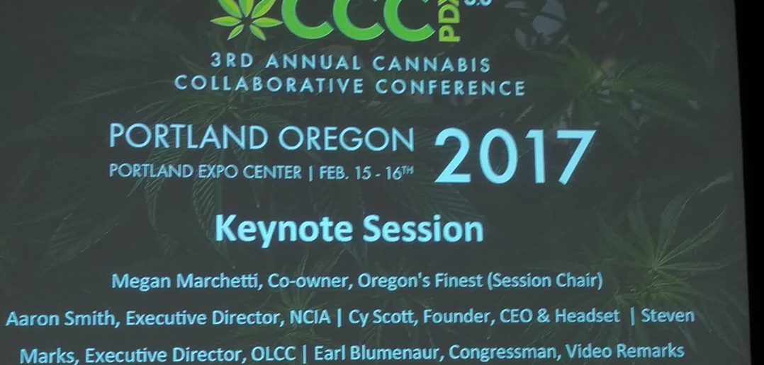 My Experience at the Cannabis Collaborative Conference in Portland